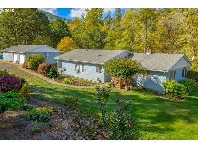 Yoncalla Single Family Home For Sale: 8996 Hayhurst Rd