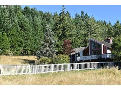 Cottage Grove, Creswell Single Family Home For Sale: 32548 Glaisyer Hill Rd