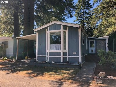 Florence Single Family Home For Sale: 89510 Hwy 101 Space 15