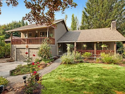 Lake Oswego Single Family Home For Sale: 91 Tanglewood Dr