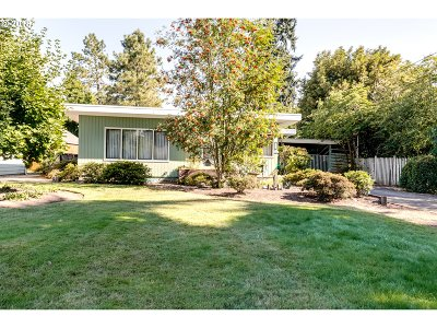 Eugene Single Family Home For Sale: 477 Park Ave