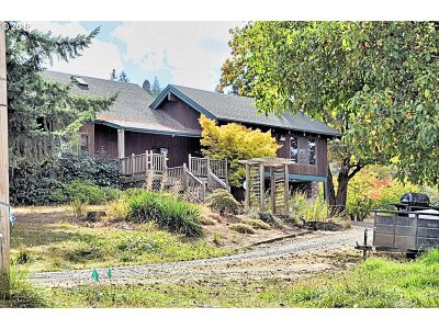 Lane County Single Family Home For Sale: 25961 Hwy 36