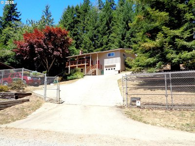 North Bend Single Family Home For Sale: 93733 Hollow Stump Ln