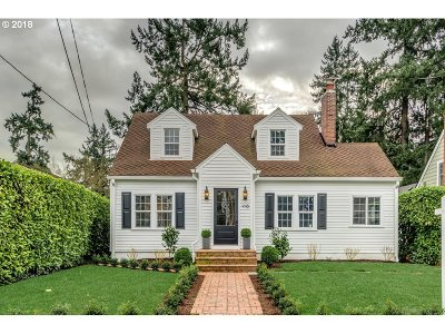 Lake Oswego Single Family Home For Sale: 116 Middlecrest Rd