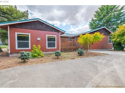 Woodburn Single Family Home For Sale: 1800 E Lincoln Rd