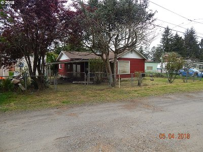 Coos Bay Single Family Home For Sale: 63536 Flower Rd