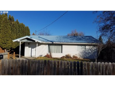 La Grande OR Single Family Home Pending: $121,550