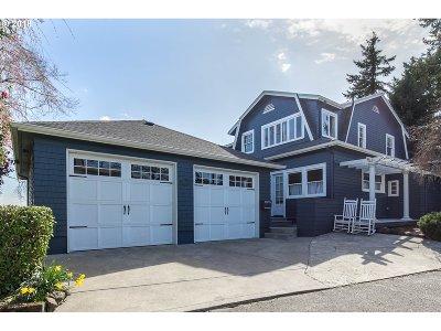 Portland Single Family Home For Sale: 2814 NW Monte Vista Ter