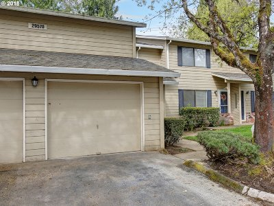Wilsonville Condo/Townhouse For Sale: 29570 SW Volley St #33