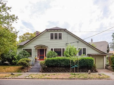 Portland Single Family Home For Sale: 1111 NE Imperial Ave