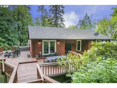 Portland Single Family Home For Sale: 7440 SW Canyon Dr