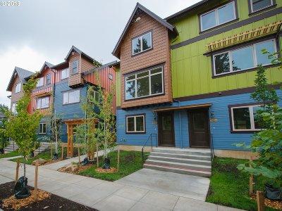Portland Single Family Home For Sale: 5838 NE Mason St #3