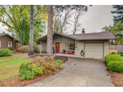 Portland Single Family Home For Sale: 12580 SW Faircrest St