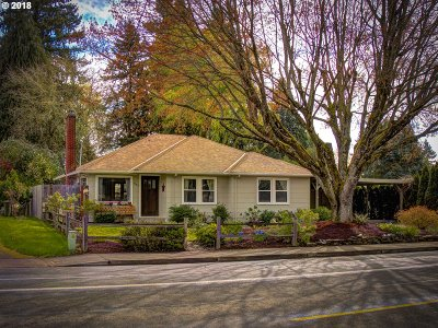 Canby Single Family Home For Sale: 640 N Ivy St