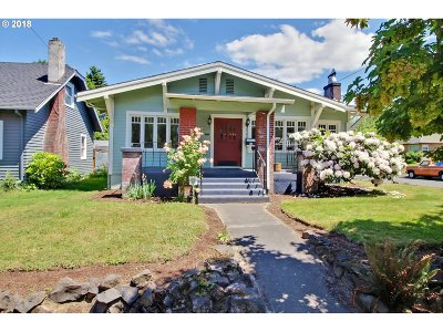 Portland Single Family Home For Sale: 7204 NE 6th Ave