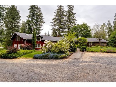 Springfield Single Family Home For Sale: 36814 Parsons Creek Rd