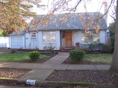 Eugene Single Family Home For Sale: 4210 Jessen Dr