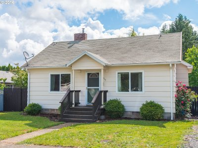 Single Family Home Sold: 166 NW Wade St