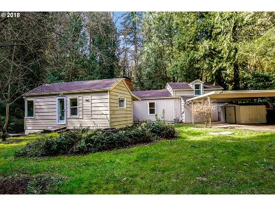 Portland Single Family Home For Sale: 6400 NW Cornell Rd