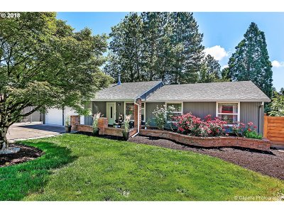 Beaverton Single Family Home For Sale: 6770 SW Whistling Ct