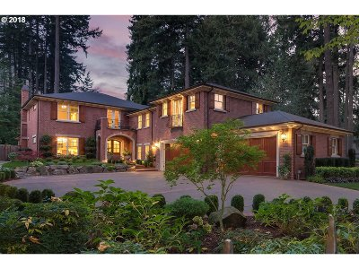 Lake Oswego Single Family Home For Sale: 1075 Chandler Rd