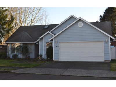 Wilsonville, Canby, Aurora Single Family Home For Sale: 1343 SE 11th Loop