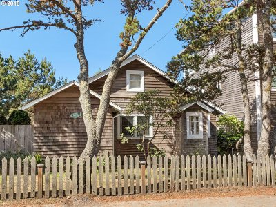 Seaside Single Family Home For Sale: 1306 N Franklin