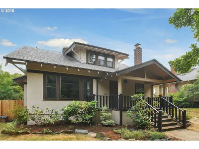 Single Family Home For Sale: 2736 SE 49th Ave