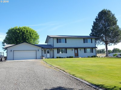 Hermiston Single Family Home For Sale: 80556 N Hill Dr