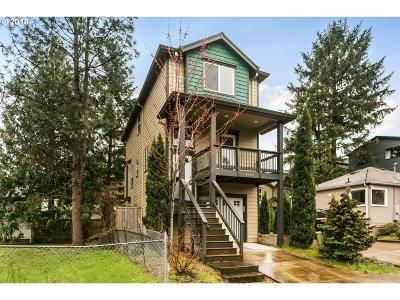 Multnomah County, Washington County, Clackamas County Single Family Home For Sale: 4548 SW Luradel St