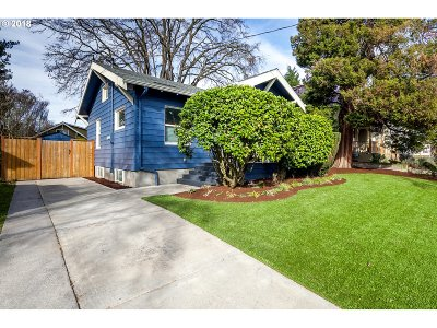 Portland Single Family Home For Sale: 1735 N Sumner St