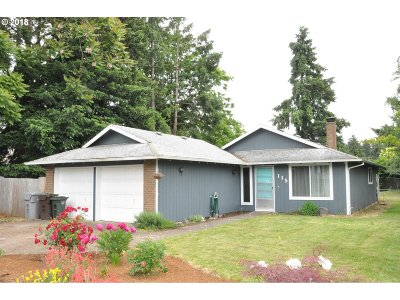 Wilsonville, Canby, Aurora Single Family Home For Sale: 115 SW 8th Ave