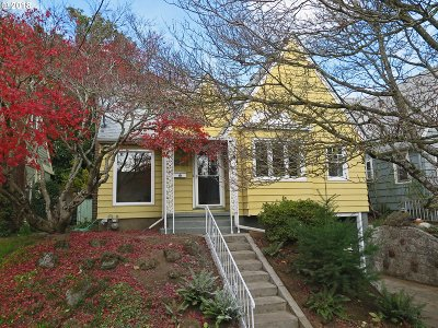Portland OR Single Family Home For Sale: $550,000