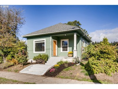 Portland OR Single Family Home Pending: $349,900