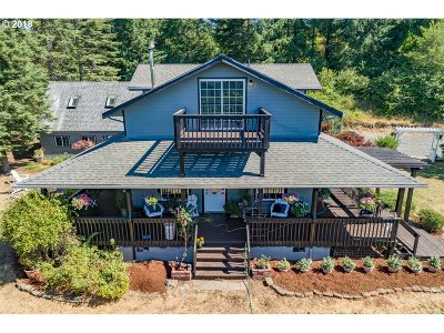 Sweet Home Single Family Home Sold: 43797 Wiley Creek Dr