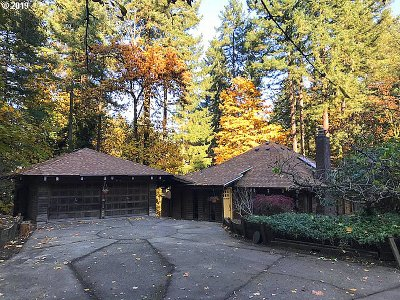 Beaverton Single Family Home For Sale: 17895 SW Shadypeak Ln