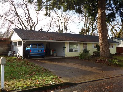 Eugene Single Family Home For Sale: 3660 Mahlon Ave