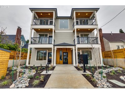 Portland Condo/Townhouse For Sale: 6400 N Montana Ave #D