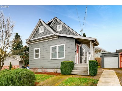 Portland Single Family Home For Sale: 4414 SE 28th Ave