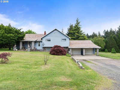 Molalla Single Family Home For Sale: 36752 S Sawtell Rd
