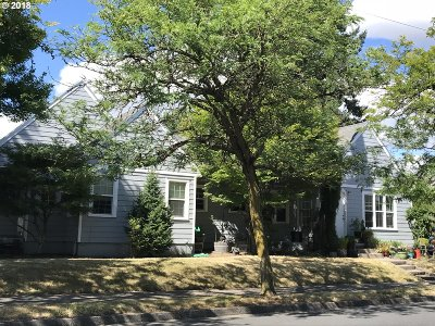 Portland OR Multi Family Home For Sale: $529,900