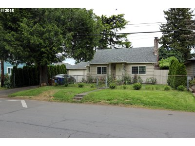 Portland Single Family Home For Sale: 7056 SE 62nd Ave