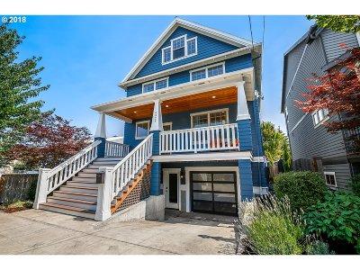 Portland Single Family Home For Sale: 4928 NE 26th Ave