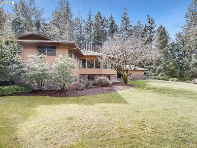 Single Family Home For Sale: 7875 SW Miller Hill Rd