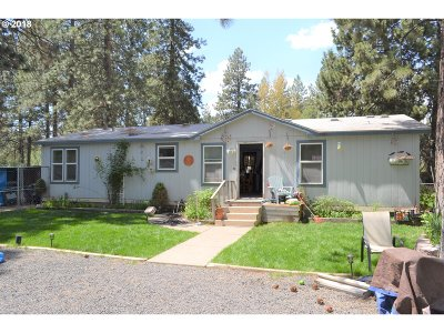 Bend Single Family Home For Sale: 60081 Cinder Butte Rd