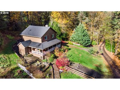 Forest Grove Single Family Home For Sale: 3525 SW Bear Creek Rd