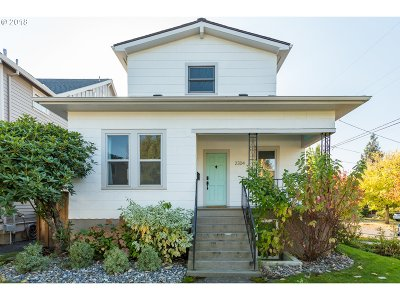 Single Family Home For Sale: 2304 SE Tibbetts St
