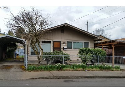 Portland Single Family Home For Sale: 4523 SE 84th Ave