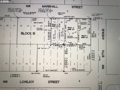 Portland Residential Lots & Land For Sale: NW Marshall St