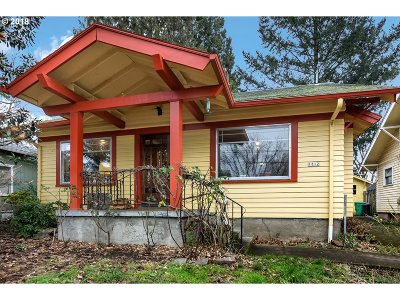 Portland Single Family Home For Sale: 1812 SE 43rd Ave
